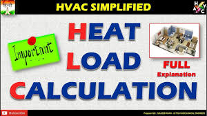 Heat Load Calculation Hvac Full Explanation Simplified