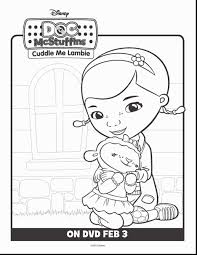 Doc Mcstuffins Coloring Pages Example Free Printable Page Of 7