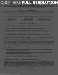 Resume For Accounting Templates Sample Accountant Banking Examples