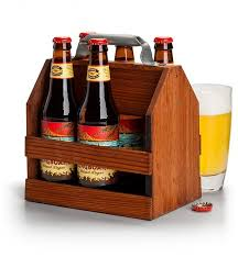 personalized keepsake gifts wooden six pack holder