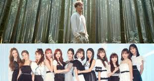 Korean Real Time Chart Chen Exo And Iz One Compete On The Korean Realtime Music