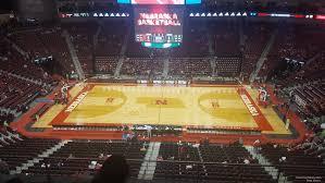 Pinnacle Bank Arena Basketball Seating Chart Pinnacle Bank Arena Section 219 Nebraska Basketball
