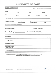 Blank Form Of Resumes Resume Blank Forms To Fill Out Resumes Nti5 Resume Examples