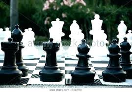 oversized chess set pieces stock image big wood wooden pottery barn w