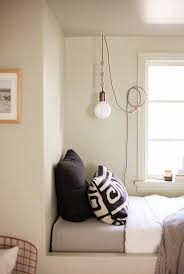 pedant rope cord light gold glass