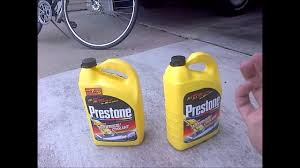 Prestone Antifreeze Color Chart How To Mix Coolant Save Yourself