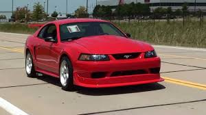 Test Driving 2000 Cobra R Mustang 5.4 DOHC V8 Six Speed - YouTube
