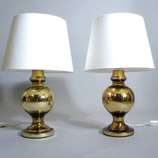 östen Uno Kristansson For Luxus A Pair Of Table Lamps