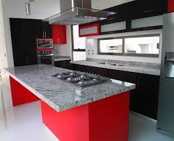 Wonderful Cocinas Blancas Y Rojas Pequeñ Negras Gris Modelos Creative Home