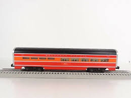 lionel o scale southern pacific sp aluminum dining passenger car 6 7204 new 2