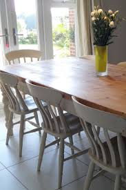 diy shabby chic dining table and chairs. interior, upcycled and shabby chic furniture with white painted finish furniture: dining diy table chairs