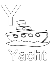 Small Picture Letter y to print and color for free