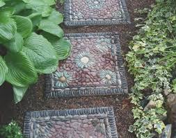 ornament simple decorative stepping stones home depot home