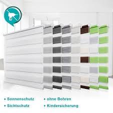 Rollos Für Fenster Tür Ohne Bohren Klemmfix Doppelrollo 90x220 Duo