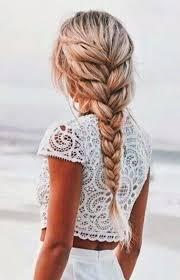 Cheveux Autres Poils Une Tresse Idienne Loose Coiffure Sh Ko