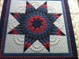 2419 best Longarm quilting designs images on Pinterest | Sew ... & Little Lone Star front Beautiful quilting Adamdwight.com