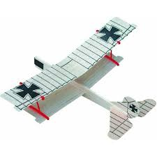 details about wwi biplane balsa wood glider plane no 45 paul k guillow