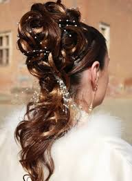 Coiffure Mariage Or