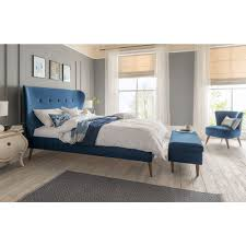 Elliston Retro & Quilted Bed Frame | FREE Delivery | Silentnight
