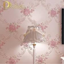 Pink Flower Wallpaper For Bedrooms Pink Damask Wallpaper Online Shopping The World Largest Pink