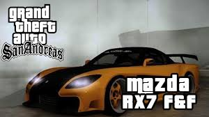 mazda rx7 veilside fast and furious. gta san andreas mods mazda rx7 veilside fast and furious tokyo drift youtube rx7 u