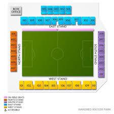 Wakemed Soccer Park 2019 Seating Chart