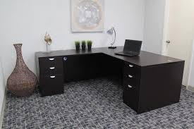 series corner desk. Boss Holland Series 71 Inch Executive L-Shape Corner Desk With Dual File Storage Pedestals, Mocha