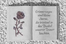 Trauersprüche Für Beileidskarten Beerdigungen Hinterbliebene