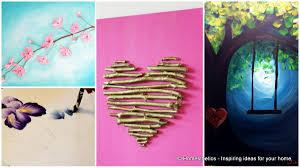 photo 5 of 7 amazing modern bedroom blue 6 diy canvas painting ideas beginners