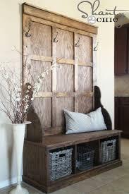 elegant front door bench coat rack best of shanty hall tree bench for the entryway than
