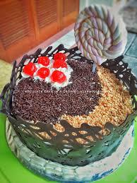 Jual Kue Ulang Tahun Birthday Cake Simple Kue Coklat