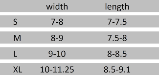 Measuring Cycling Gloves Sizing Charts Handske Gloves