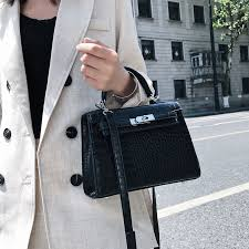 Luxury <b>Crocodile Pattern</b> Ladies Hand Bags Fashion Small Women ...