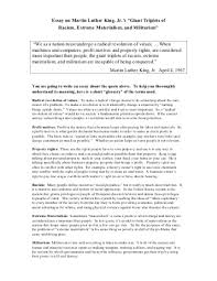 essay on martin luther king our work essay on biography of martin luther king jr essay