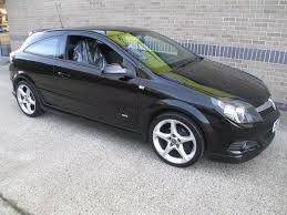 used vauxhall astra 2007 black hatchback petrol manual