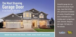 garage doors installation promotion from jones paint glass