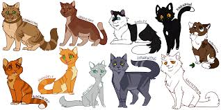 Unique Warrior Cat Designs Warrior Cats Png Thunder And Shadow Picture 503149 Warrior