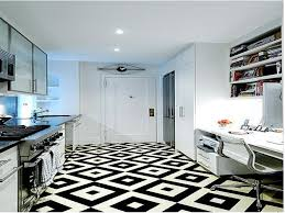 Kitchen Floor 25 Top Artistic Diamond Pattern Designing Black Tile