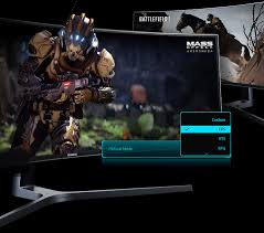 Arena Lighting Samsung Curved Gaming Monitor Harga Gaming Monitor 49inch