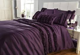 image of duvet cover purple dark