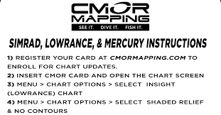 Lowrance Chart Card High Resolution Digital Fishing And Diving Maps And Charts