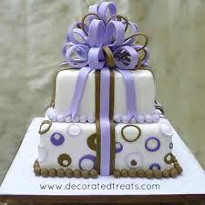 gift box cake decorating tutorial
