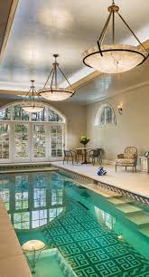Swimming Pool Design: Indoor Pool With Large Glass View - Indoor Pool Ideas