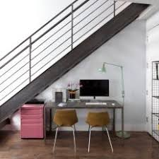 under stairs office. Space-Saving Home Office Tucked Underneath A Staircase Under Stairs