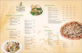 Restaurant Menu Format Free Italian Restaurant Menu Templates 13 Best Selling Designs