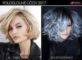 účesy Pro Polodlouhé Vlasy 2017 Nová Galerie Pro Zimní Sezónu