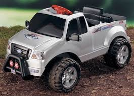 Fisher-Price Power Wheels Ford F-150 6V Battery Powered Car ...