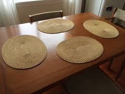 fashionable placemats also round tables with about remodel home for table placemat design piquant 8