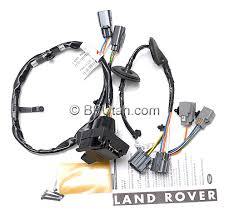 land rover lr4 genuine oem factory trailer tow wiring harness land rover lr4 genuine oem factory trailer tow wiring harness vplat0013 vplat0137