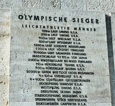 jesse owens the german way more olympic victors jesse owens appears three times on this list at the olympic stadium in berlin his fourth gold medal was for the 4 x 100 m relay